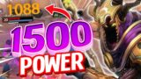 HADES With 1500 Power Does BIG DAMAGE!