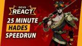 Hades Developers React to 25 Minute 'Fresh File' Speedrun