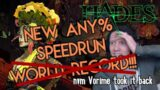 WE GOT THE ANY% SPEEDRUN RECORD!! Hades v1.0 in 7:14 In Game Time.