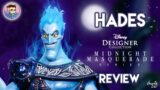 HADES LIMITED EDITION DOLL REVIEW & UNBOXING   Disney Designer Midnight Masquerade Villains