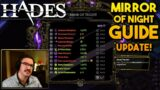 Mirror of Night Choices and Guide!   Hades