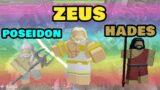 ZEUS, POSEIDON, HADES TOWER REVIEWS (3 Gods of Olympus) [ROBLOX]