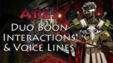 Ares Duo Boon Interactions – Hades