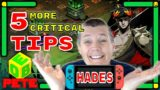 5 MORE TIPS you NEED to KNOW before playing Hades on Nintendo Switch