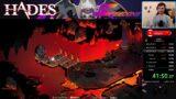 Hades – Speedrun – Eris Rail – 7:00 IGT et 14:01 RTA