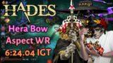 Hera Bow 6:24.04 IGT (Aspect WR) – Hades Speedrun