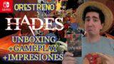 Orestreno: HADES (Switch) Unboxing + gameplay + impresiones