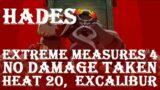 Hades: Extreme Measures 4, No Damage Taken Hades Fight, Excalibur (Heat 20).