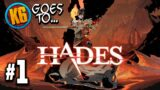 K6 GOES TO HADES! – Let's Play Hades | Day #1