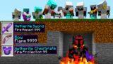 Minecraft 100 Speedrunners vs HADES GOD Hunter