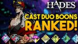 Ranking the Cast Duo Boons! | Hades