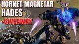[WR] 5 Scorpion Giveaway   Hornet Magnetar Hades Gameplay   War Robots #WRwinscorpion