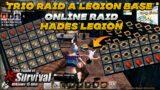 Online Raid Trio vs Hades Legion | YOLO Raid | Last island of survival | Last Day Rules survival