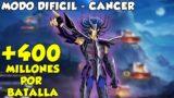12 TEMPLOS DE HADES DIFICIL: MASCARA DE MUERTE 400 MILLONES POR BATALLA SAINT SEIYA AWAKENING KOTZ