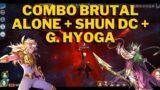 COMBO ALONE HADES + HYOGA DORADO + SHUN DC MUY INTERESANTE. ANUNCIO DE TORNEO. Saint Seiya Awakening
