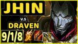 HADES (JHIN) vs DRAVEN – 9/1/8 KDA BOTTOM ADC CHALLENGER GAMEPLAY – EUW