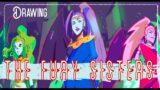 Drawing the Fury Sisters | Hades video game (digital art)