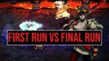 FIRST RUN vs FINAL RUN | Hades