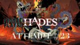 Fbombe Plays: Hades – Attempt #23 – Made it to The Temple of Styx – Series X Gameplay…