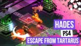 Hades PS4 – Escape From Tartarus – First Playthrough #HadesGame