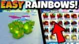 I GOT THE NEW RAINBOW HOUND OF HADES WITH THESE FUSE! Pet Simulator X Roblox