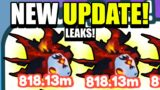 NEW *UPDATE* LEAKS! WYVERY OF HADES INSANE! | Pet Simulator X Roblox