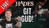 Hades Is Hard But I love it | Live Stream With Platinum Bro
