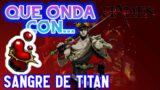 Hades | Todo Lo Que Necesitas Saber de la SANGRE DE TITAN | Como Mejorar Las Armas  (PC)
